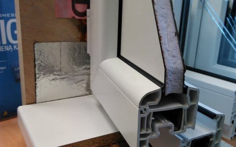 Taip turi atrodyti pavyzdingas langų montavimas